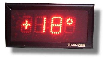 orologio temperatura